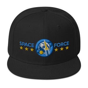 SPACE FORCE - high snapback hat