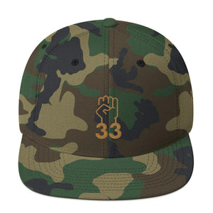 NO AGENDA 33 - high snapback hat
