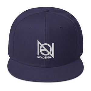 NO AGENDA - high snapback hat