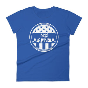 NO AGENDA PARTY TIME - womens tee