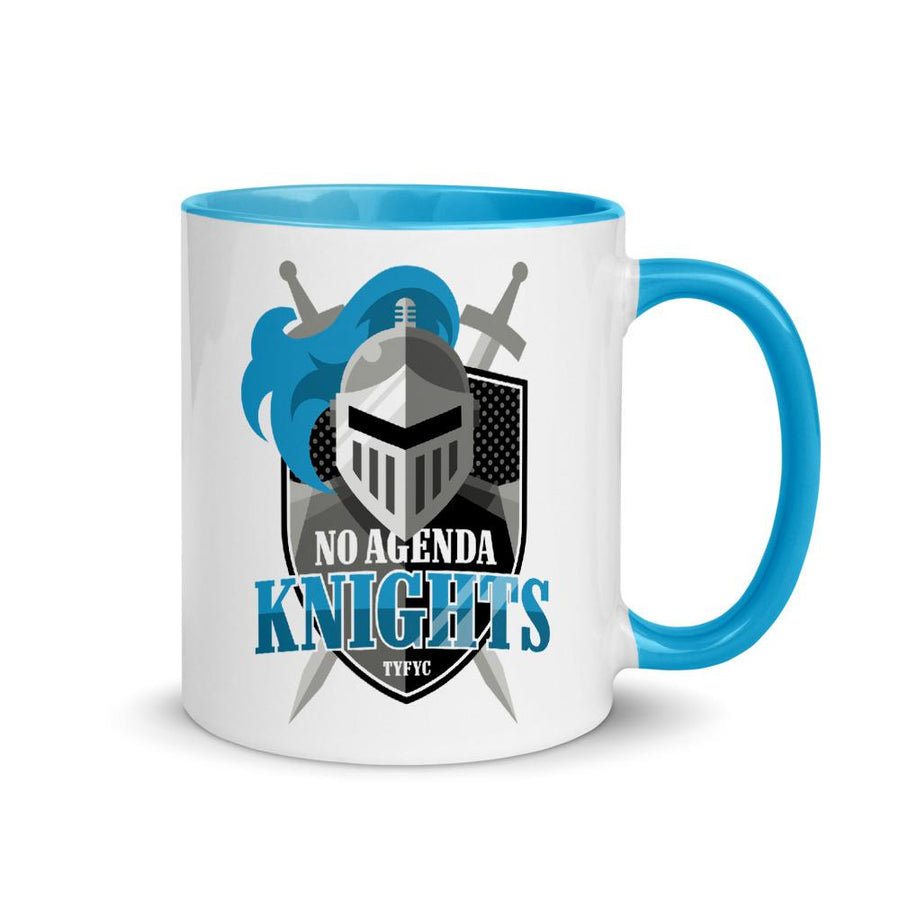 NO AGENDA KNIGHTS - accent mug