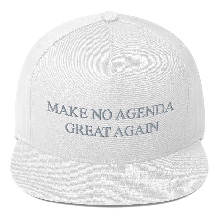 MAKE NO AGENDA GREAT AGAIN - high snapback hat