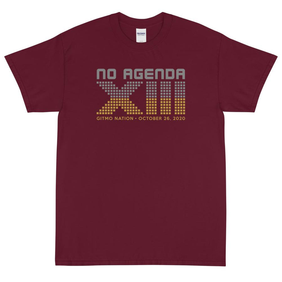 NO AGENDA 13 YEARS - rugged tee