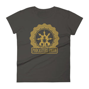 PODCASTERS UNION - womens tee