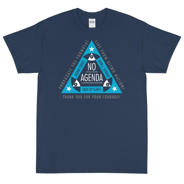 ALL SEEING NO AGENDA - rugged tee