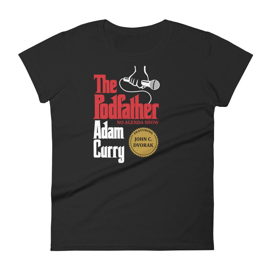 PODFATHER ADAM CURRY feat. DVORAK - womens tee