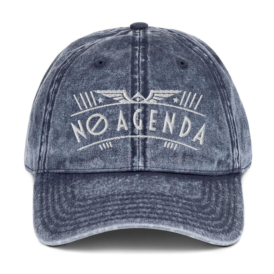 NO AGENDA RALLY - vintage cap