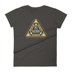 ALL SEEING NO AGENDA - womens tee