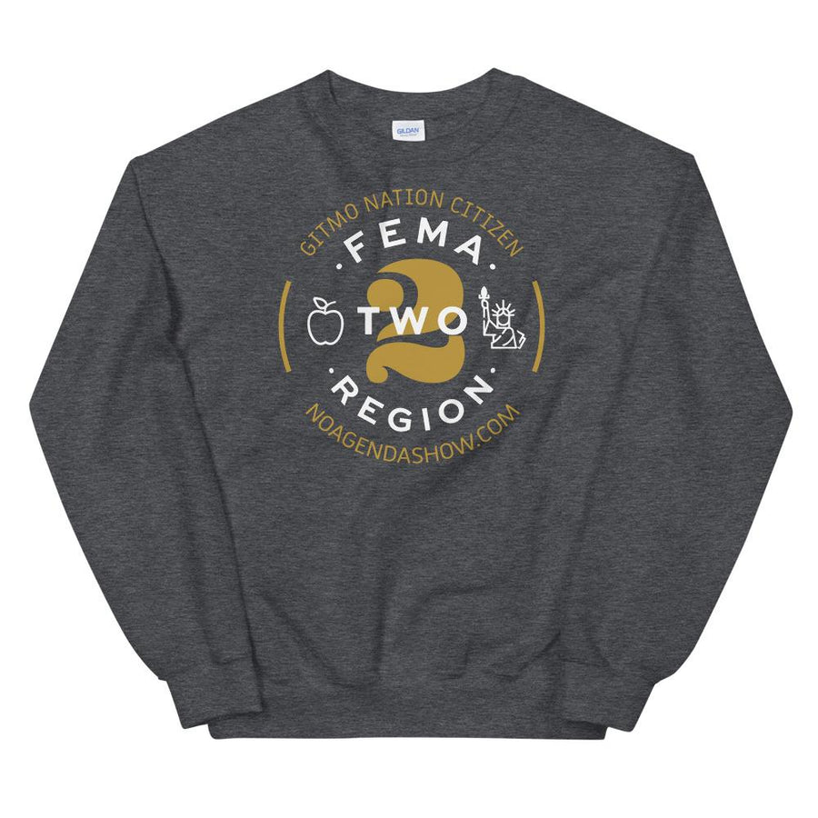 FEMA REGION TWO - sweatshirt
