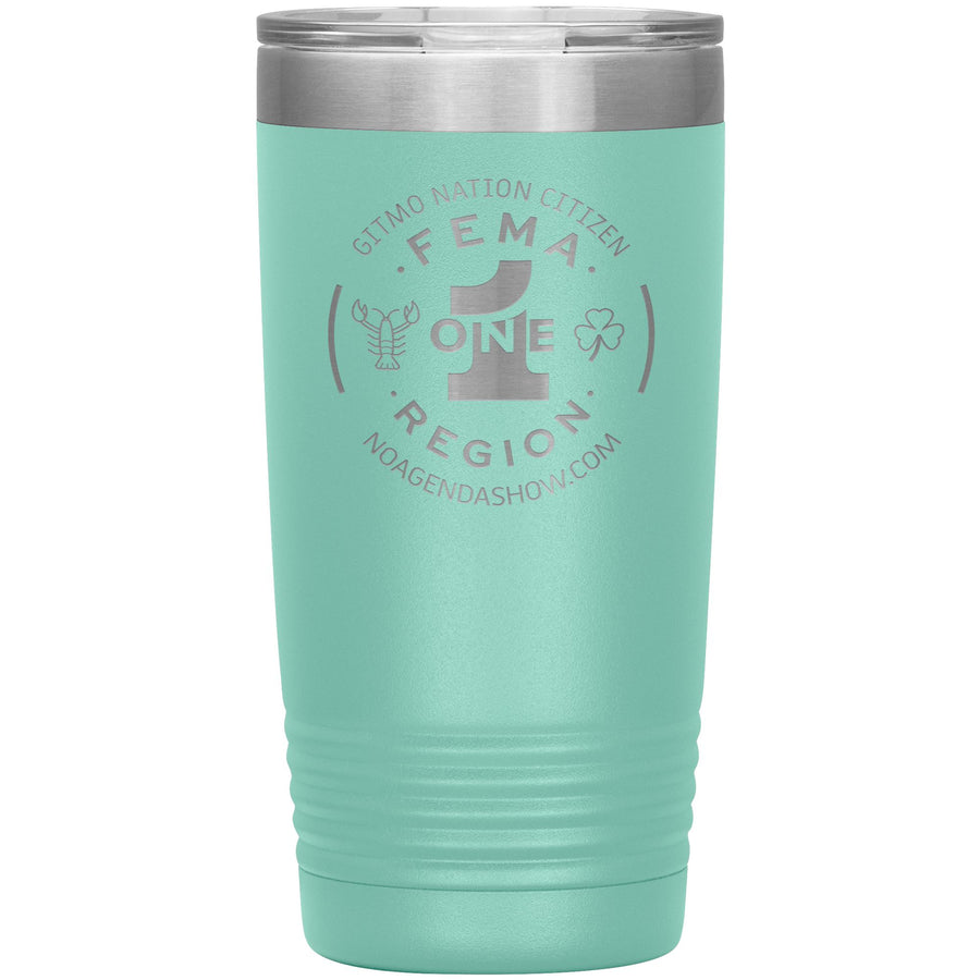 FEMA REGION ONE - 20 oz tumbler