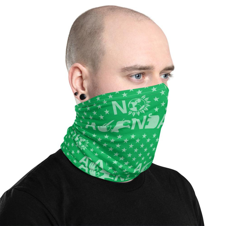 NO AGENDA PARTY TIME - neck gaiter