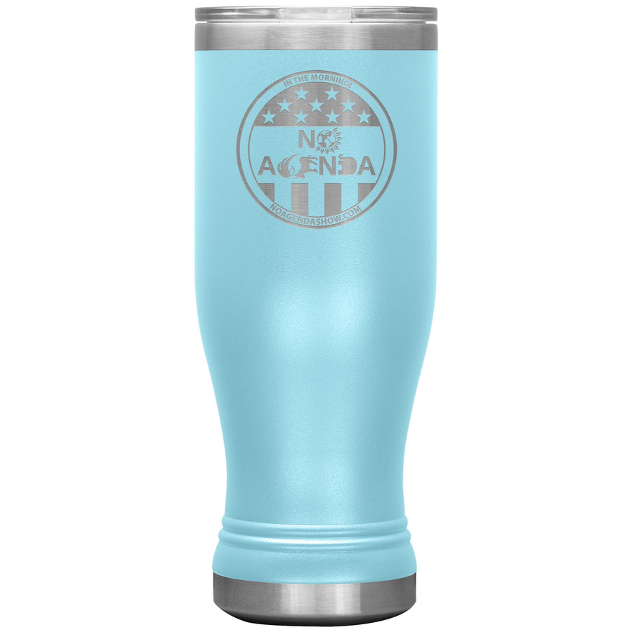 NO AGENDA PARTY TIME - 20 oz boho tumbler