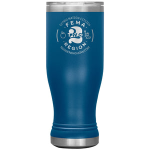 FEMA REGION TWO - 20 oz boho tumbler