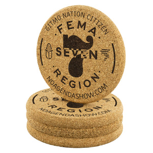 FEMA REGION SEVEN - cork coasters