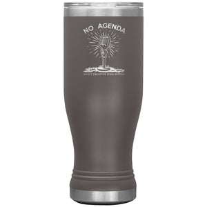 DONT TREAD ON PODCASTING - 20 oz boho tumbler