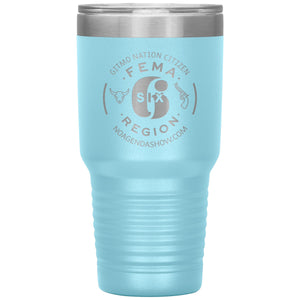 FEMA REGION SIX - 30 oz tumbler