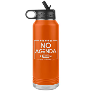 NO AGENDA 2020 - 32 oz straw tumbler