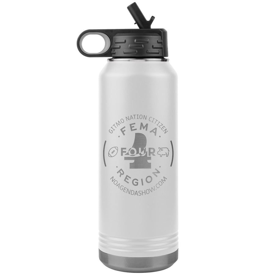 FEMA REGION FOUR - 32 oz straw tumbler