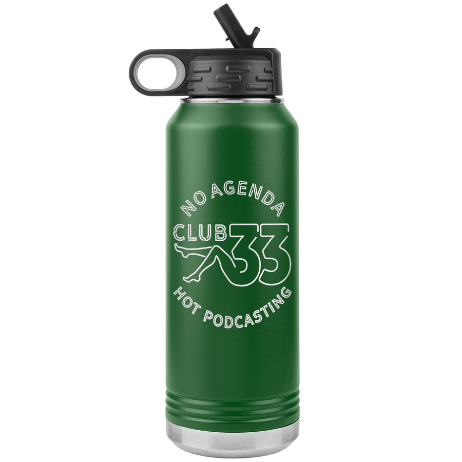 NO AGENDA CLUB 33 - 32 oz straw tumbler