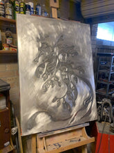 Load image into Gallery viewer, Aluminium painting in progress