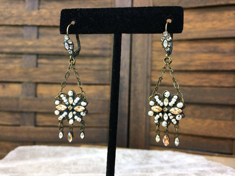 Sorrelli Seed Pearl Dangle Earrings