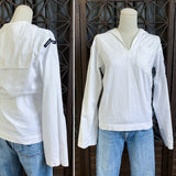 Vietnam Era White Sailor Shirt, Size Small