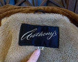 70's Corduroy Coat by Anthony's, Size Small