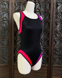 New Old Stock One Piece Bathing Suit, Size Medium to Large