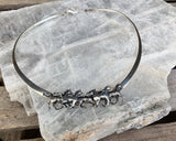 Sterling Horse Choker by Kabana