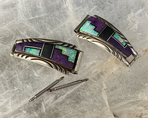 Sterling Inlay Watch Tips