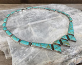 Turquoise Articulated Collar Necklace
