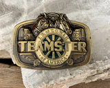 Teamsters Belt Buckle