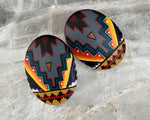 Hand Painted Post Earrings