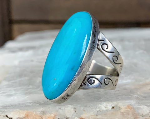 Sterling Turquoise Ring by Jay King, Size 5.5