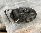 Coin Cluster Belt Buckle