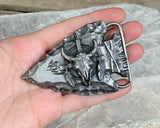 Arrowhead Belt Buckle by Siskiyou