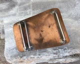 Sterling & Copper Belt Buckle