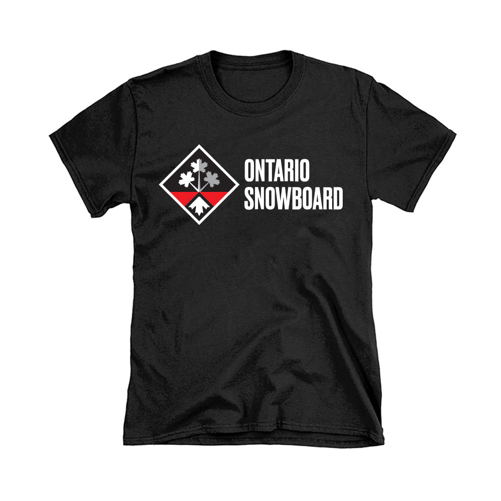 ON SNOWBOARD T-SHIRT