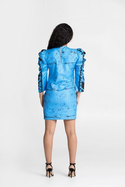 Load image into Gallery viewer, Fitted Mini Bota Dress