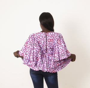 Orisha Peplum Top