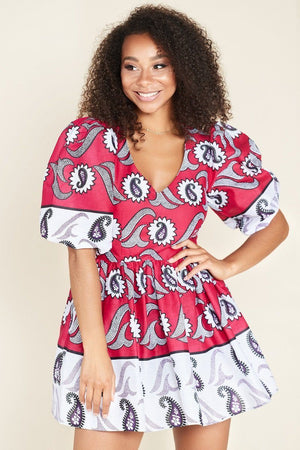 Rafiki African Print Dress