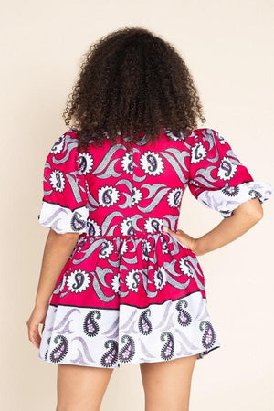 Load image into Gallery viewer, Rafiki African Print Dress