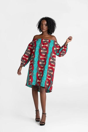 Off Shoulder Wema Dress