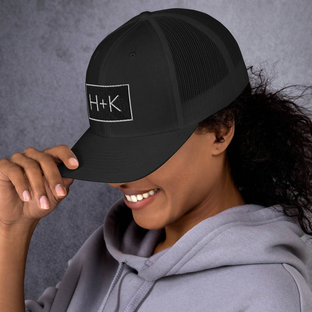 Load image into Gallery viewer, Retro H+K Logo Mesh Hat