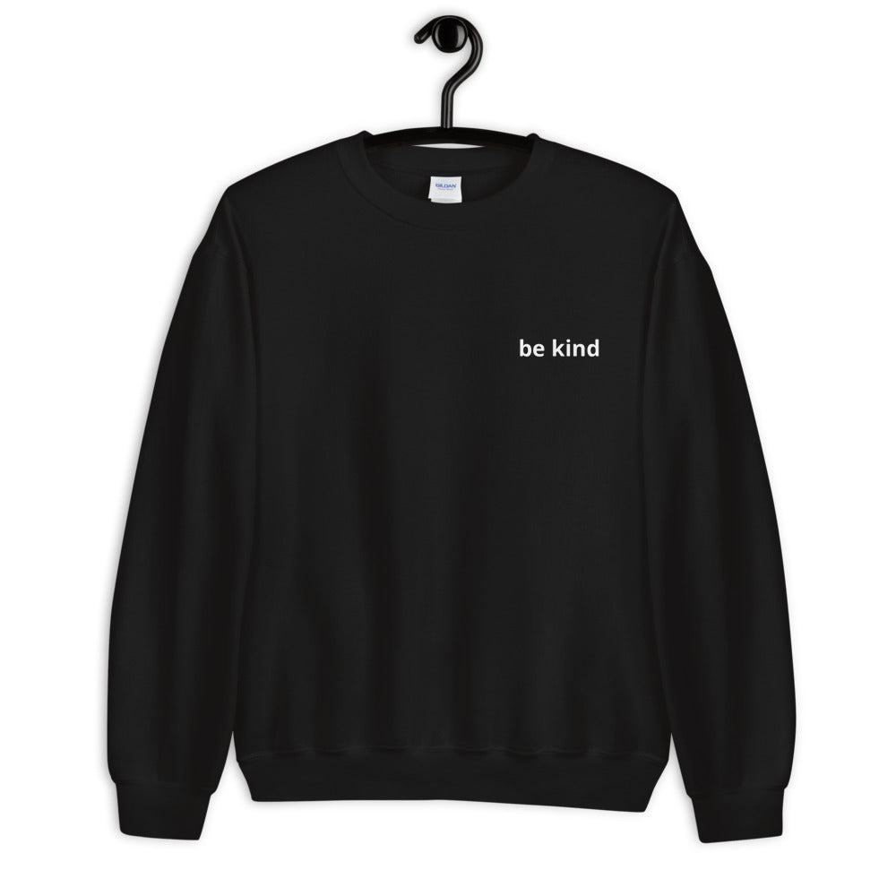 Black 'be kind' Sweatshirt