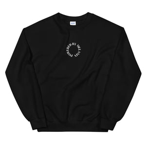 Load image into Gallery viewer, Black 'Powered by Melanin' Sweatshirt