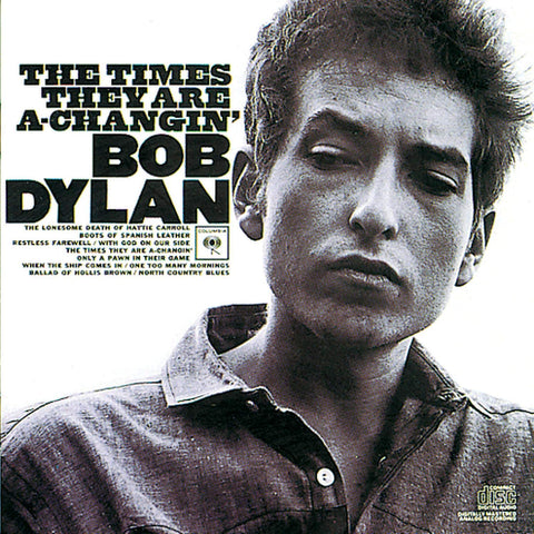 Dylan, Bob ‎– The Times They Are A-Changin'