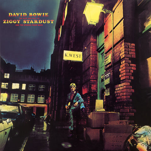 Bowie, David ‎– The Rise And Fall Of Ziggy Stardust And The Spiders From Mars