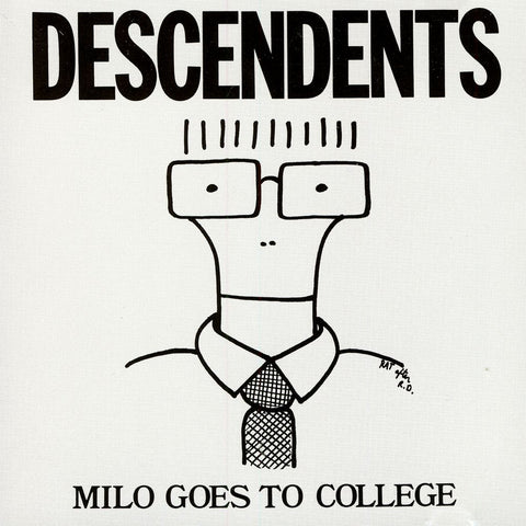 Descendents ‎– Milo Goes To College