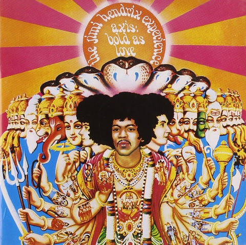 Jimi Hendrix Experience ‎– Axis: Bold As Love